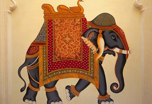 Indian Elephant Painting October 2011 - ...