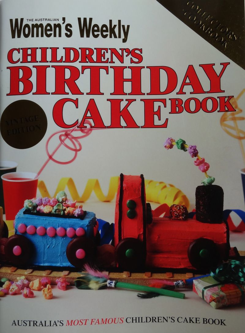 When I Mentioned This To My Children 30 Year Old Son Said He Wanted That 3 1 Cake Remembered From The Book For His Next Birthday