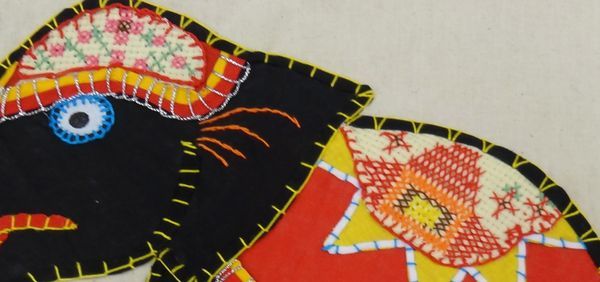 Caro rose creations some more sri lankan embroidery